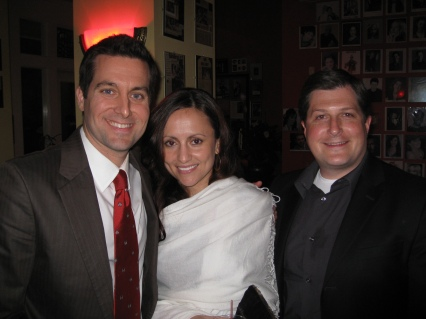 Fletcher Mackel, Dr. Ashley Weiss, WDSU Asst. News Director Greg Shepperd