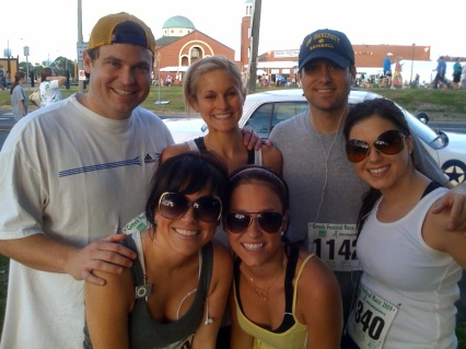 Top Row: Carl Servat, Dr. Casey Iverstine, Fletcher Mackel  Bottom Row: The Sevier Sisters (KC, Brittany and Stephanie)