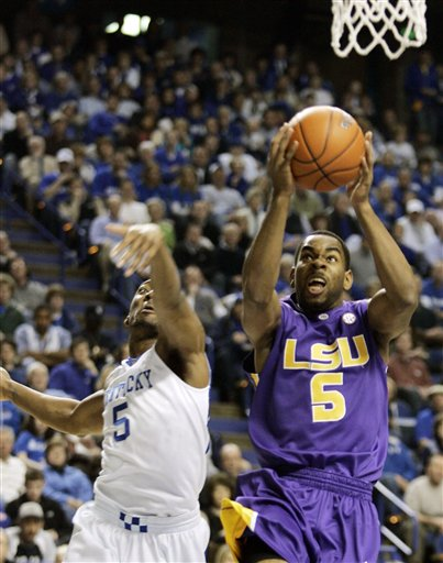 LSU Kentucky Basketball